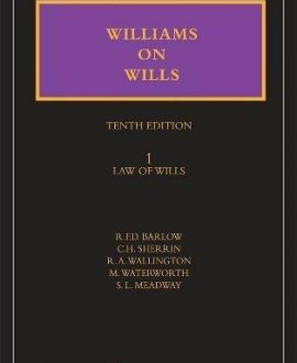 Williams on Wills (With CD-ROM) (2 Vol.)