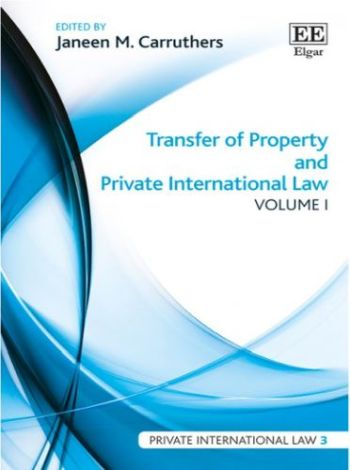 Transfer of Property and Private International Law (2 Vol.)