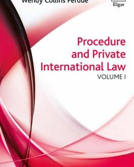 Procedure and Private International Law (2 Vol.)