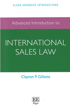 Advanced Introduction to International Sales Law (Paperback)