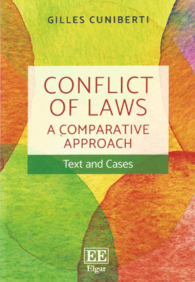 Conflict of Laws: A Comparative Approach (Paperback)