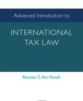 Advanced Introduction to International Tax Law (Paperback)