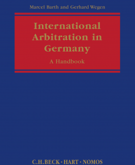 International Arbitration in Germany
