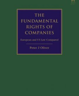 The Fundamental Rights of Companies