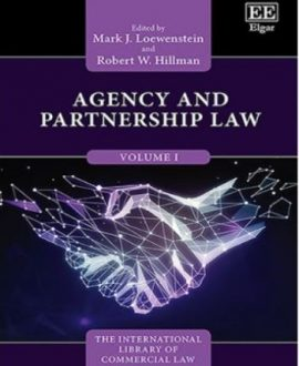 Agency and Partnership Law (3 Vol.)