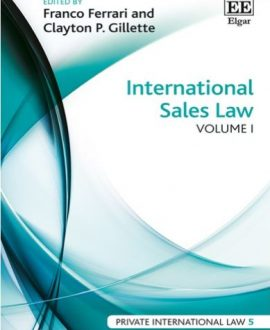 International Sales Law (2 Vol.)