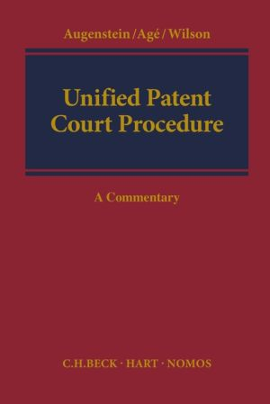Unified Patent Court Procedure