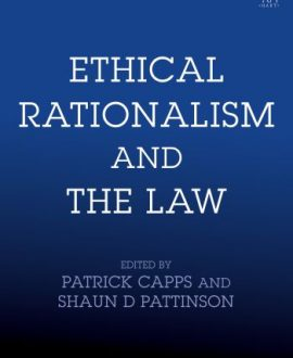 Ethical Rationalism and the Law