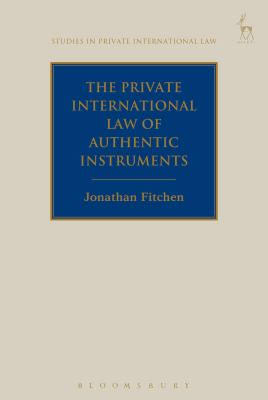 The Private International Law of Authentic Instruments
