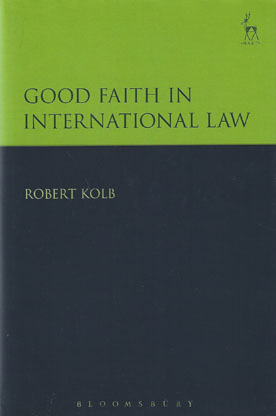 Good Faith in International Law
