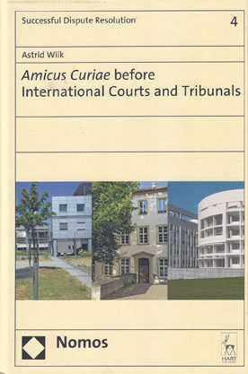 Amicus Curiae Before International Courts and Tribunals