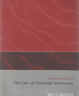 An Introduction to the Law on Financial Investment