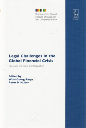 Legal Challenges in the Global Financial Crisis (Paperback)