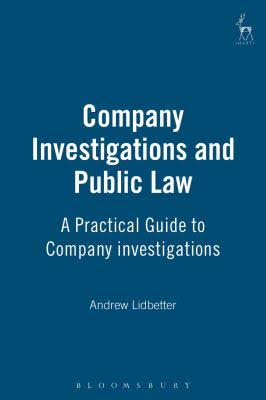 Company Investigations and Public Law