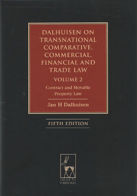 Dalhuisen on Transnational Comparative, Commercial, Financial and Trade Law (Vol 2)