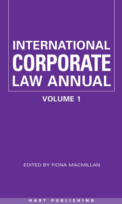 International Corporate Law (Vol 1)