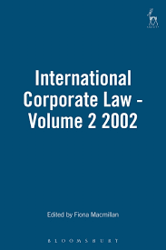 International Corporate Law (Vol 2)