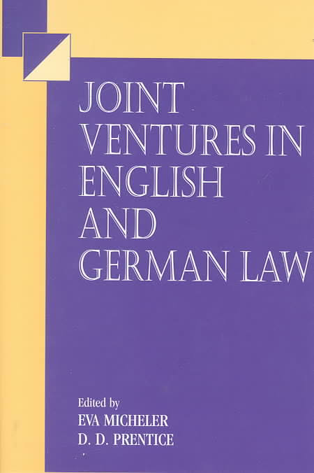 Joint Ventures in English and German Law