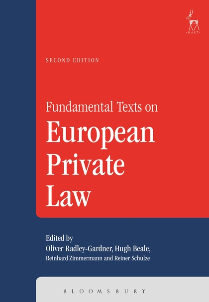 Fundamental Texts on European Private Law,
