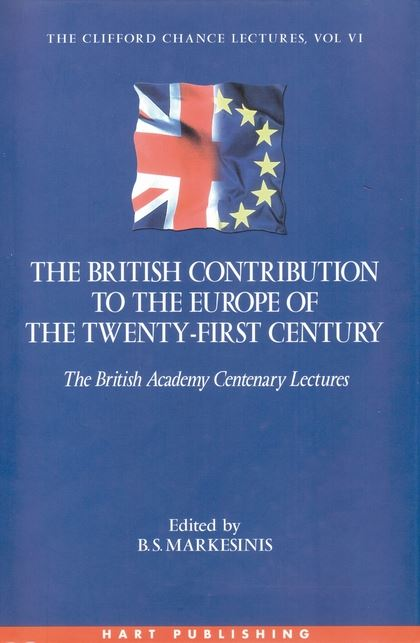 The British Contribution to the Europe of the Twenty-First Century
