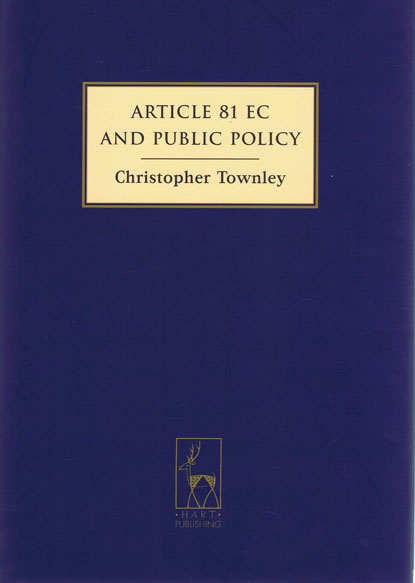 Article 81 EC and Public Policy