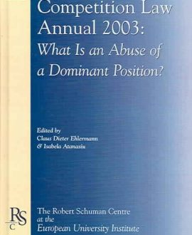 European Competition Law Annual 2003