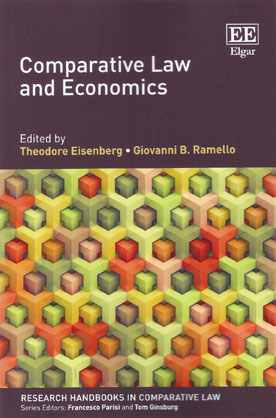 Comparative Law and Economics (Paperback)