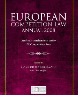 European Competition Law Annual 2008