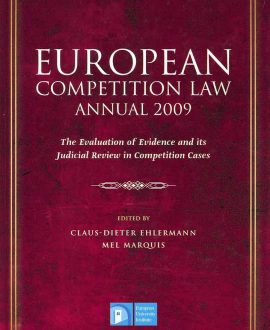 European Competition Law Annual 2009