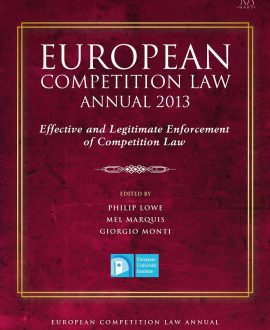 European Competition Law Annual 2013