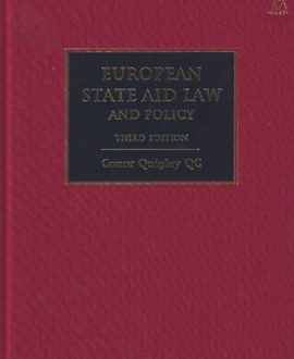 European State Aid Law and Policy