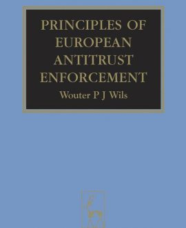 Principles of European Antitrust Enforcement
