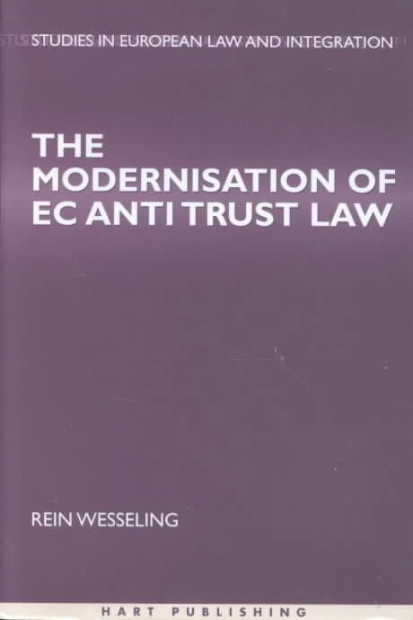 The Modernisation of EC Antitrust Law