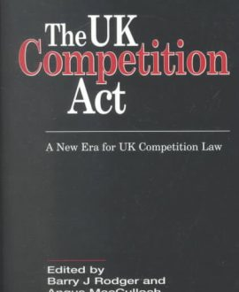 The UK Competition Act