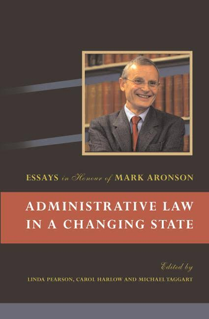 Administrative Law in a Changing State