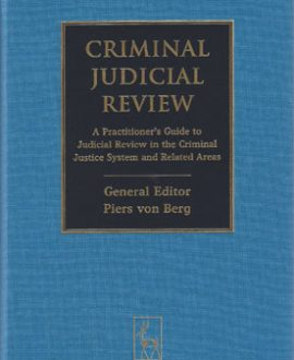 Criminal Judicial Review