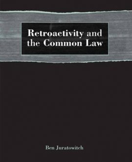 Retroactivity and the Common Law