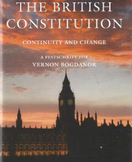 The British Constitution: Continuity and Change,