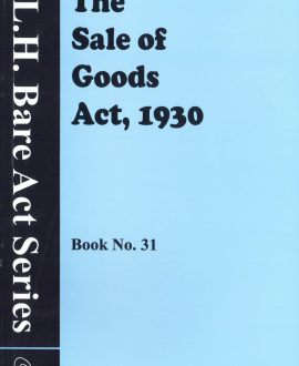 The Sale Of Good Acts, 1930