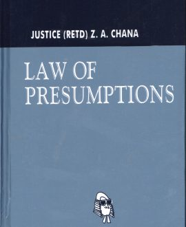 Law of Presumptions