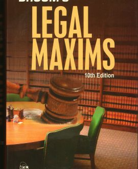 Legal Maxims (10th Edition)