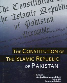 The Constitution of Islamic Republic of Pakistan(update 22nd ammendment)