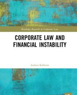 Corporate Law and Financial Instability