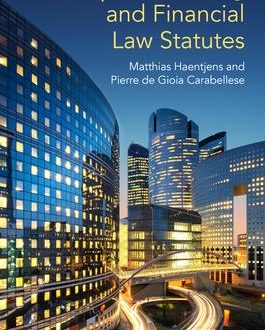 European Banking and Financial Law Statutes (Paperback)