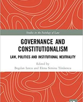 Governance and Constitutionalism