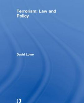 Terrorism: Law and Policy