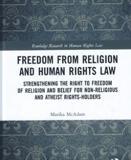Freedom from Religion and Human Rights Law