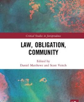Law, Obligation, Community