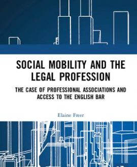 Social Mobility and the Legal Profession