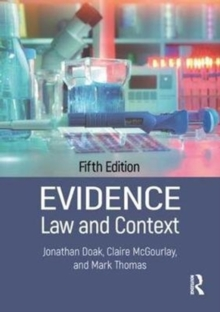 Evidence: Law and Context (Paperback)